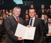 Prof. (FH) Dr. Oskar Müller und Andreas Lässer, BSc