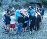 Canyoning @ Lehrlingsseminar 2012