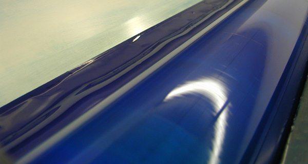 drucken, Druckerei, blaue Farbe