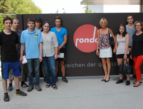 Betriebsbesichtigung bei Rondo Ganahl AG am 07.07.2015