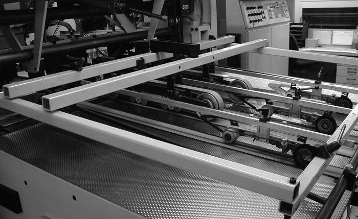Josef Bayer GmbH - Produktion - Stanzen