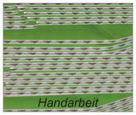 Handarbeit (Handklebung)