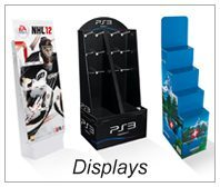 Displays / Wellpappedisplays / POS