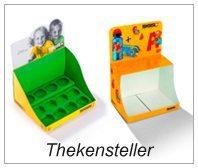 Thekensteller / Thekendisplays / Thekenaufsteller