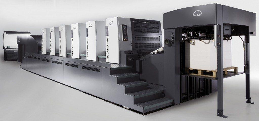 Josef Bayer GmbH - Man Roland 705R Druckmaschine