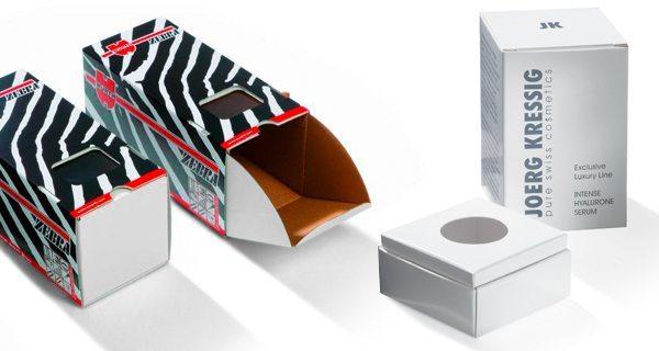 Faltschachteln aus Karton
