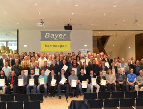 Bayer erhält Ökoprofit Zertifikat 2016