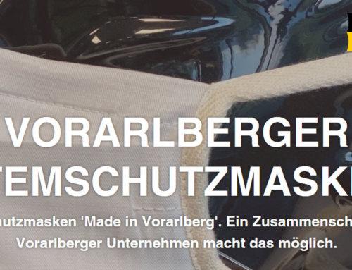 Schutzmasken 100% Made in Vorarlberg